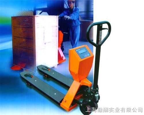 2吨YCS带打印叉车秤上海冬季热销中