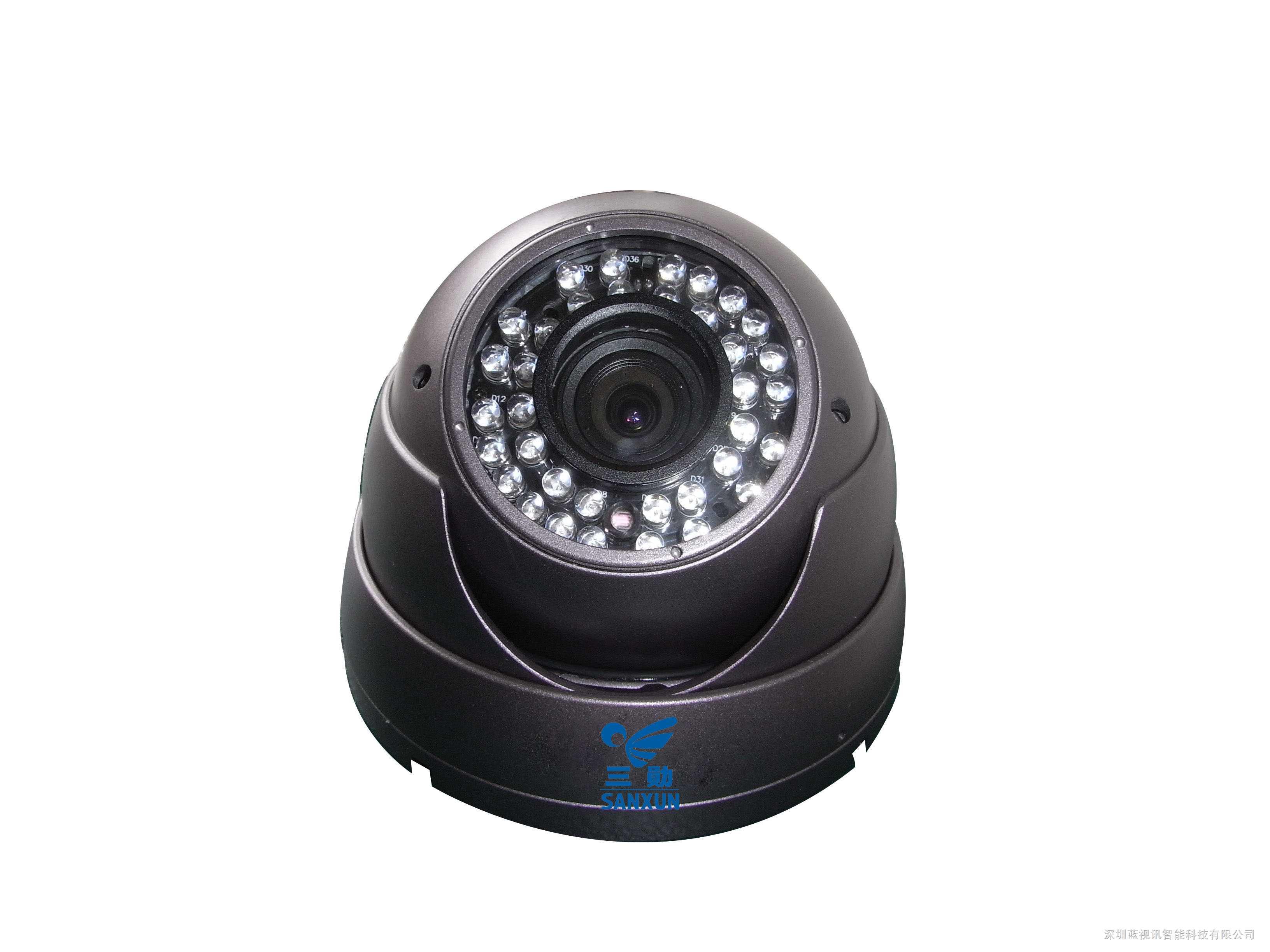 红外超宽动态防暴大海螺彩色摄像机
