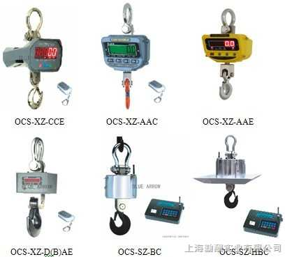 经典SH电子吊钩秤,OCS电子吊秤≌上海直视吊钩秤