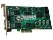 两路高清视频采集卡 HDMI信号/VGA信号/DVI信号/分量信号