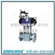 QJDRG型精小型气动高压O型球阀