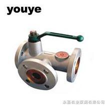 YQ44F组合式三通球阀