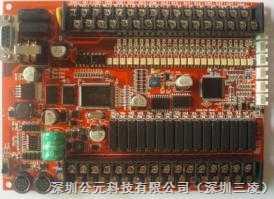 三凌新推出自带模拟功能双串口-板式PLC