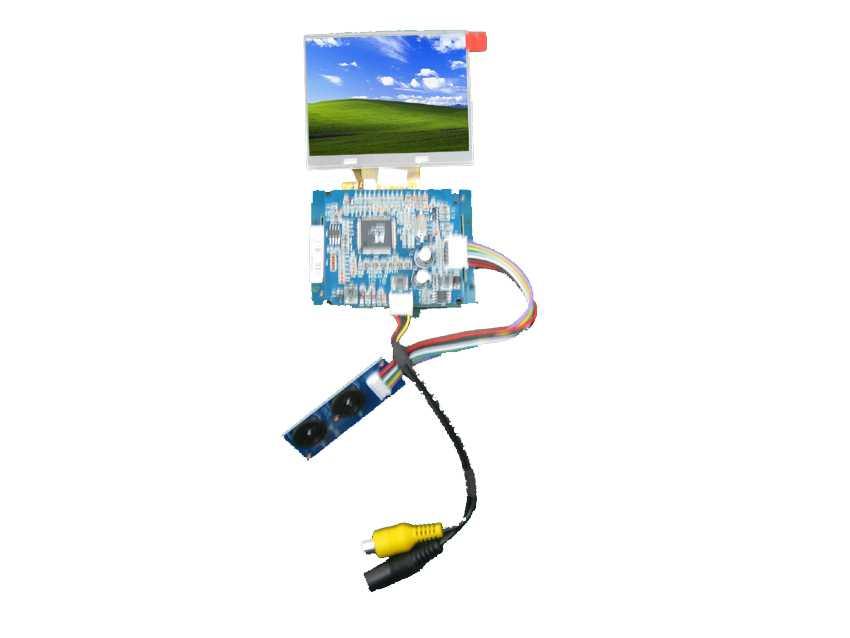 天马3.5寸数字液晶屏(LED)驱动板模组-杭州天马液晶屏代理商
