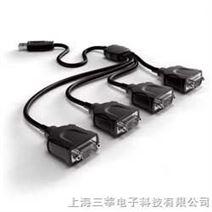 台湾原产 YB1240 入门级USB转4口RS232 USB串口转换器