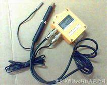 土壤温湿度记录仪/土壤温湿度计(电池供电,测量地上地下,国产)