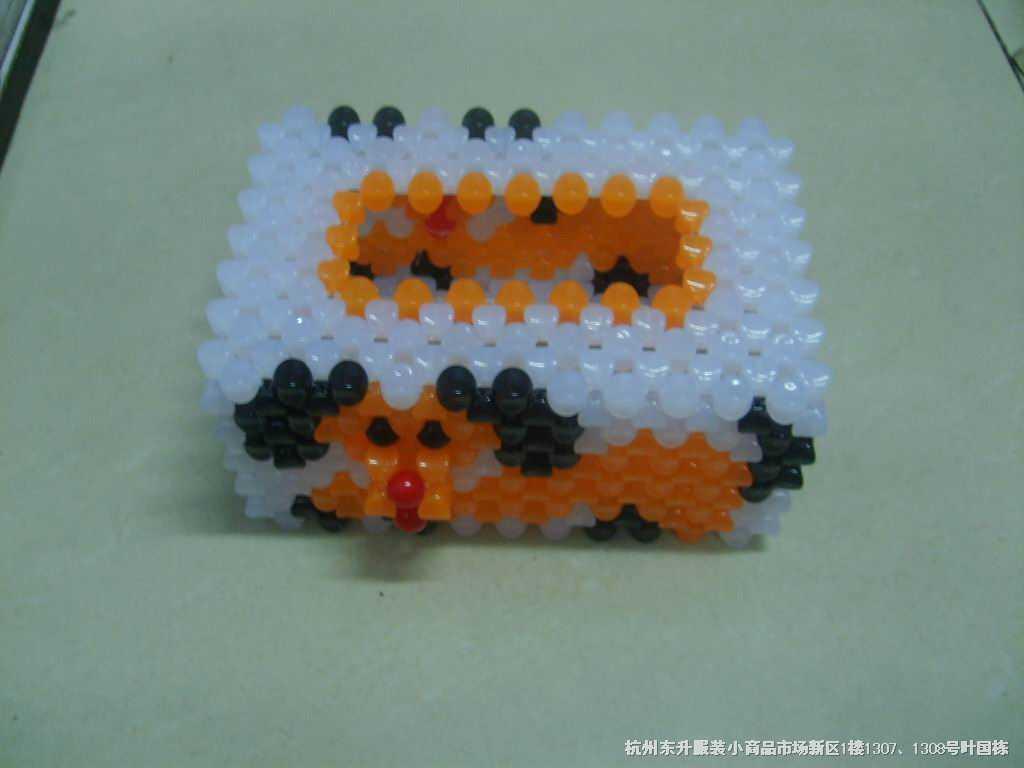 珠子编织工艺品步骤 视频