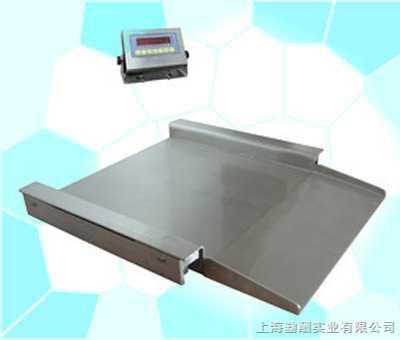 SCS带单面引坡电子地磅秤
