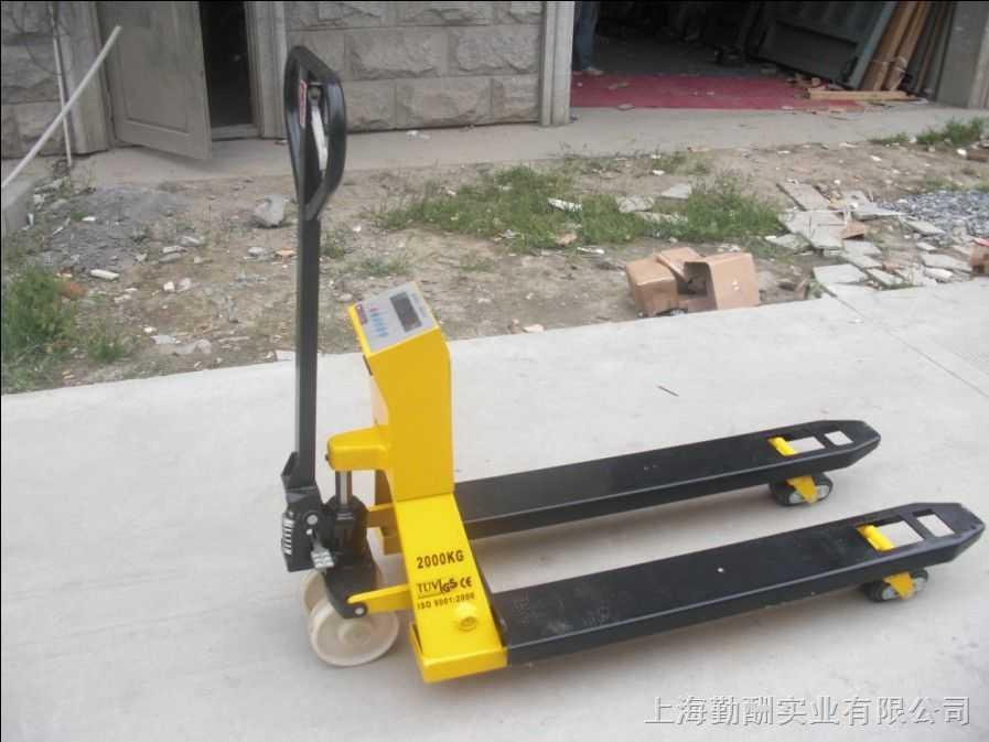 1吨叉车秤(上海电子叉车秤价格)N