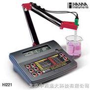 型号:HANNA HI221C-台式实验室酸度计/ORP/温度测定仪 型号:HANNA HI221C