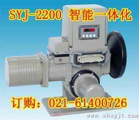 上仪集团 SYJ-2206 智能一体化角行程电动执行机构