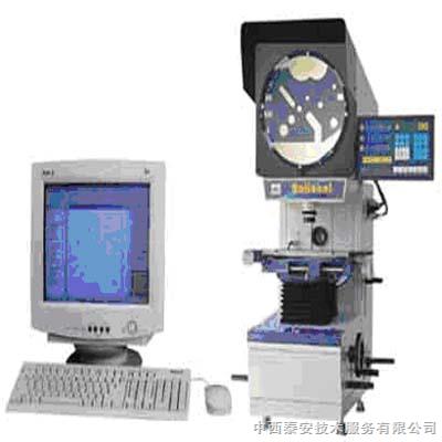 电脑图像处理测量投影仪