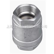H12W-内螺纹直通止回阀 不锈钢材质
