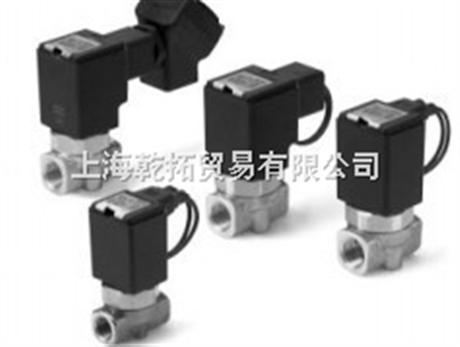 smc流体控制用直动式2通电磁阀,进口SMC直动式2通电磁阀