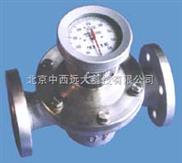不锈钢椭圆齿轮流量计(不带过滤器!) 型号:CN66M/AT12-LC-25B库号:M120603