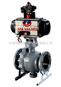 ANSI标准气动固定式球阀