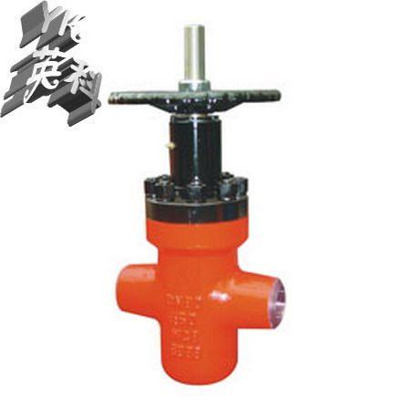 供应gpz63y型对焊连接高压平板闸阀图片