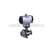卡箍式|螺纹式|法兰式|焊接式气动卫生球阀