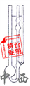 烏氏粘度計(0.55mm,球容積3.5) 型號:CN61M/SBQ8-1835()庫號:M209