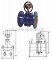 蝶式流量平衡阀KPF-黄铜平衡阀-上海黄铜平衡阀