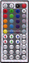 JRM018-44键遥控器,RGB遥控