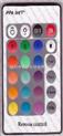 JRM017-24键遥控器,LED遥控