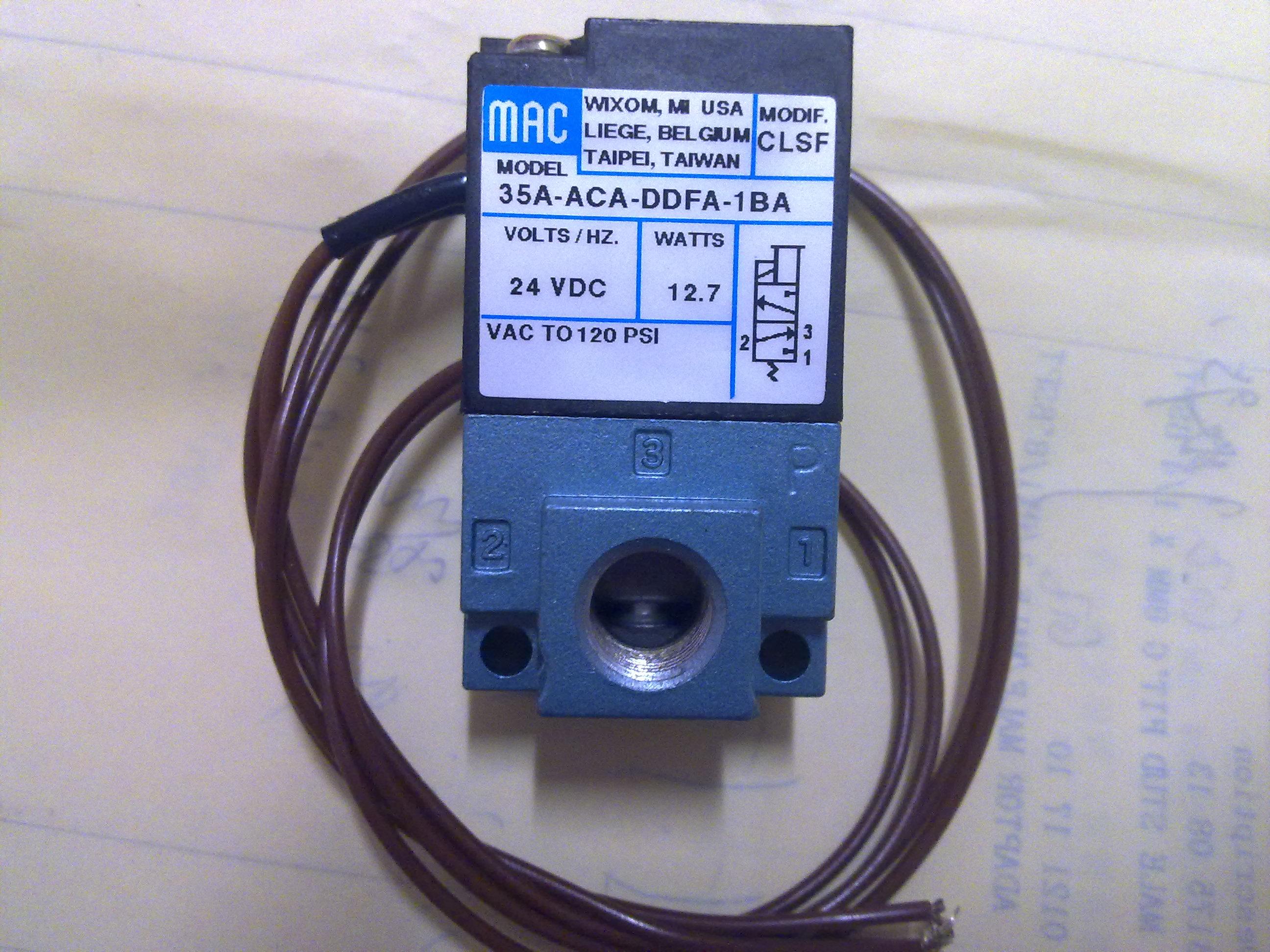 美国mac电磁阀_接线图分享图片