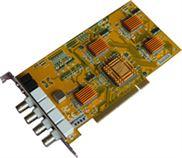 供应MV-4100 4路实时智能交通图像采集卡