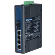 EKI-2525M 4电1光(多模)非网管工业以太网交换机