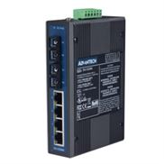 EKI-2526M 4电2光(多模)非网管型工业以太网交换机