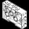 FESTO气路板,PAL-1/8-1/4-3,德国FESTO底座,费斯托单个底座